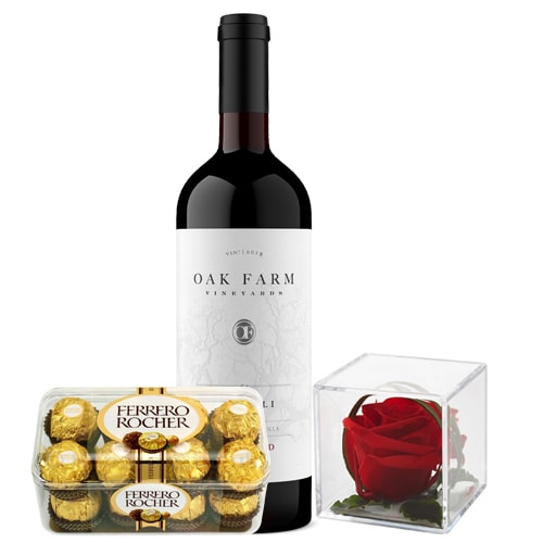 Gift Box with Wine