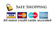 We Accept all Debit/Credit Cards
