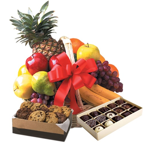 Fresh Squeezed Love Delight Fruit Basket