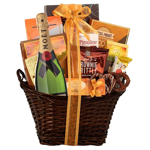 Gourmet Hamper with Champagne - Medium