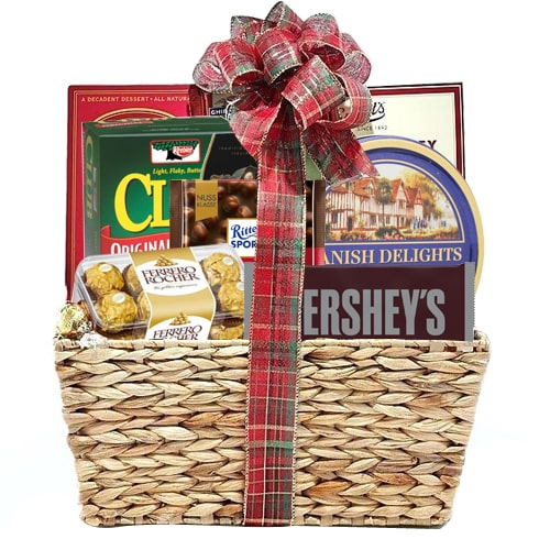 Lovely Chocolate Hamper in a Basket
