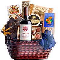 Gourmet Hamper with French Wine
