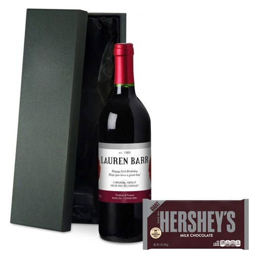 Dynamic French Wine and Hershey's Chocolate