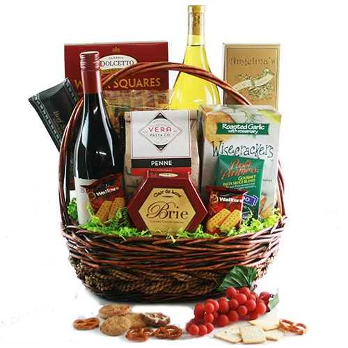 A Lovely French Wine Hamper