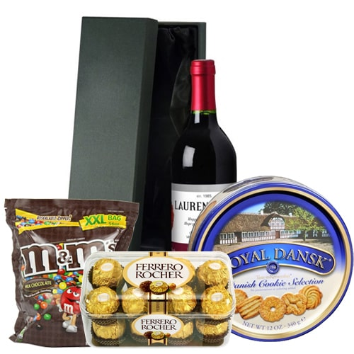 Wine, Ferrero Chocolates and more Sweets