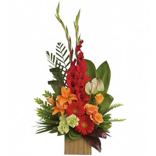 Expressive Fresh Flowers Bouquet