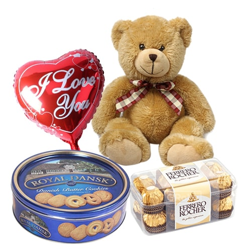Gorgeous Heart of Love Combo Gift Hamper
