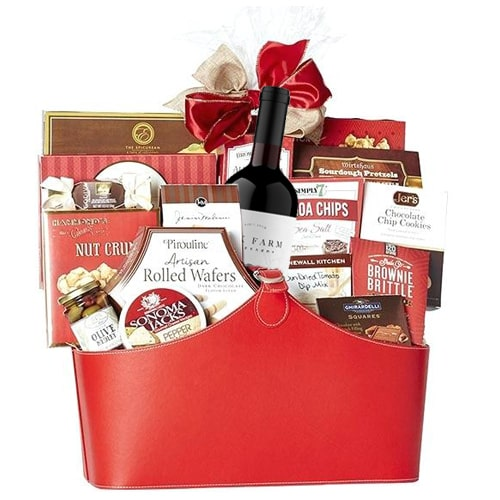 Mesmerizing Tasty and Healthy Treat Gift Basket